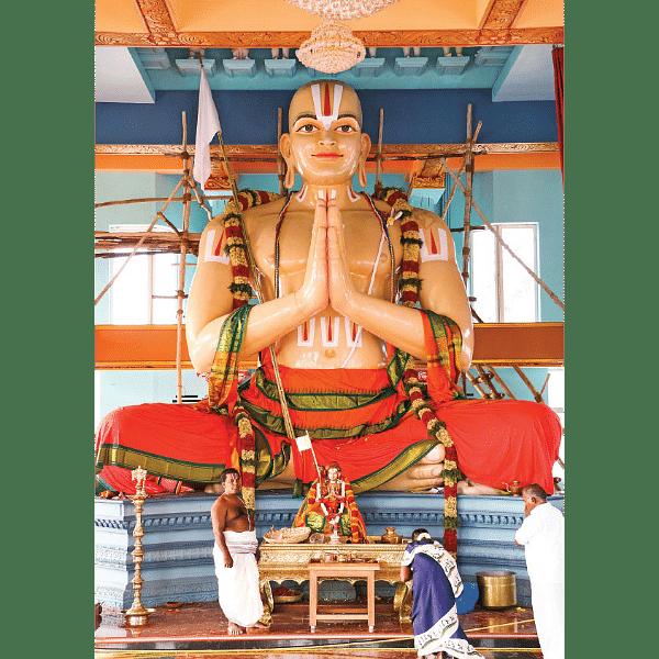 சக்தி தரிசனம் - ஸ்ரீராமாநுஜருக்கு மணிமண்டபம்!