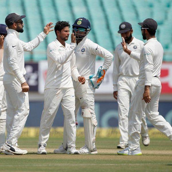 `இந்திய அணியின் டெஸ்ட் கிரிக்கெட் வரலாற்றில் மிகப்பெரிய வெற்றி!' - ராஜ்கோட்டில் புதிய வரலாறு #INDvWI