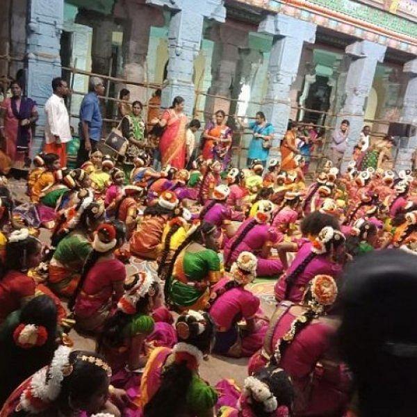 சிதம்பரம் நடராஜர் கோயிலில் 3000 கலைஞர்களின் நவராத்திரி நாட்டியத் திருவிழா!