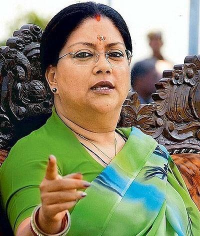 பாஜக தலைவர் அமித்ஷாவை  சந்திக்க முயலவில்லை: வசுந்தரா ராஜே விளக்கம்!