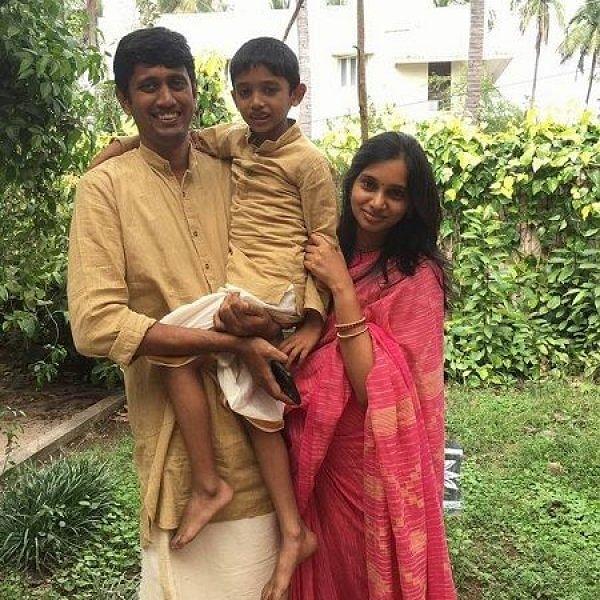 ஐ.டி வேலையைத் துறந்த பெற்றோர்... பள்ளியில் இயற்கைப் புரட்சி பேசும் மகன்!