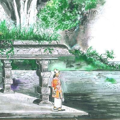 மண்புழு மன்னாரு: வெள்ளத்துக்கு சங்கதி சொன்ன சங்கு மண்டபம்!