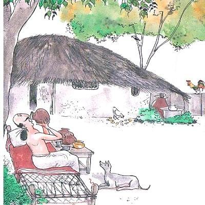 மண்புழு மன்னாரு: பழைய சோத்துக்குள் இருக்குது... ஜோரான மருந்து..!