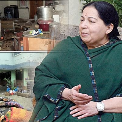 Where is the Tamil Nadu Chief Minister Jayalalitha?
