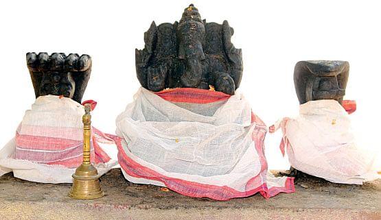 ராகு, கேதுவுடன்... ஸ்ரீசக்தி விநாயகர்!