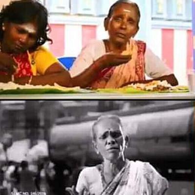 'தி.மு.க. விளம்பரம்னு தெரியாம நடிச்சுட்டேன் கண்ணு!' - கஸ்தூரி பாட்டி