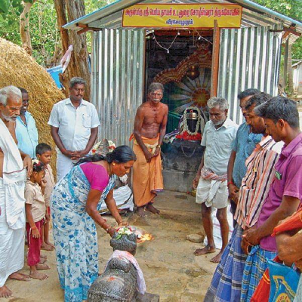 ராஜேந்திர சோழனுக்கு ஆசி தந்த சோழீஸ்வரர்!