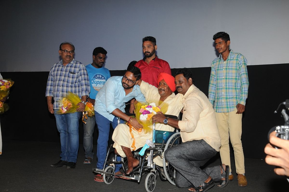 Launch of Banth Singh's book at Gypsy Audio Launch