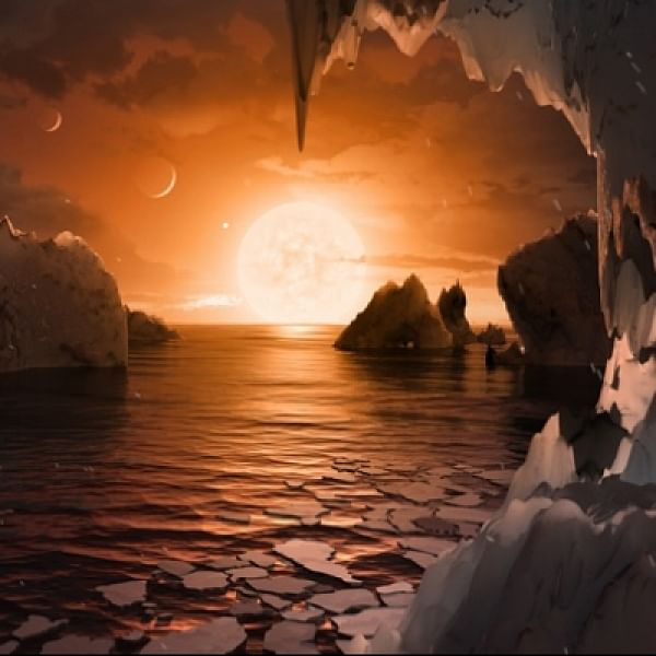சூரியக் குடும்பத்துக்கு வெளியே மனிதர்கள் வாழ இன்னொரு கேலக்ஸியா? #TRAPPIST1