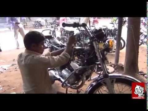 Visually Challenged Mechanic Kannapan   Vikatan TV