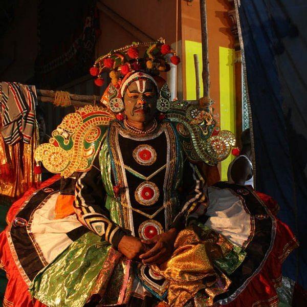 பப்ரு வாகனன் யார்... பாரதப் போருக்குப் பின் என்ன நடந்தது: சென்னை அண்ணாநகரில் களைகட்டிய கூத்து!