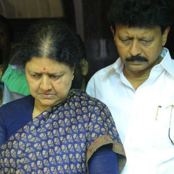 சசிகலா-திவாகரன்