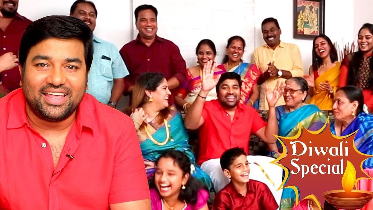 The Real Kadaikutty Singam Family - Mirchi Shiva's Family | Full Comedy