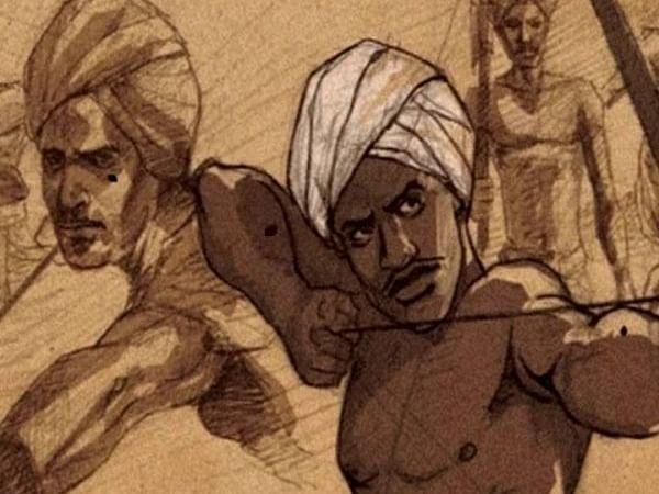 பிர்சா முண்டா... பாராளுமன்றத்தில் இருக்கும் ஒரே பழங்குடி இனத்தவரின் புகைப்படம்... யார் இவர்?