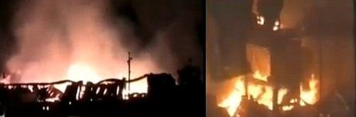 பெங்களூருவில் சொகுசு பேருந்தில் தீ: 7 பேர் பலி