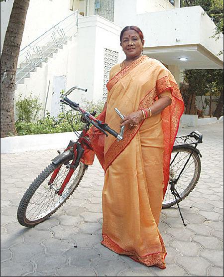 லேடி சாப்ளின்...