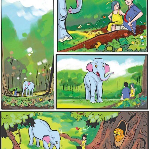 ஜீபாவின் சாகசம் - வேலி மர்மம்