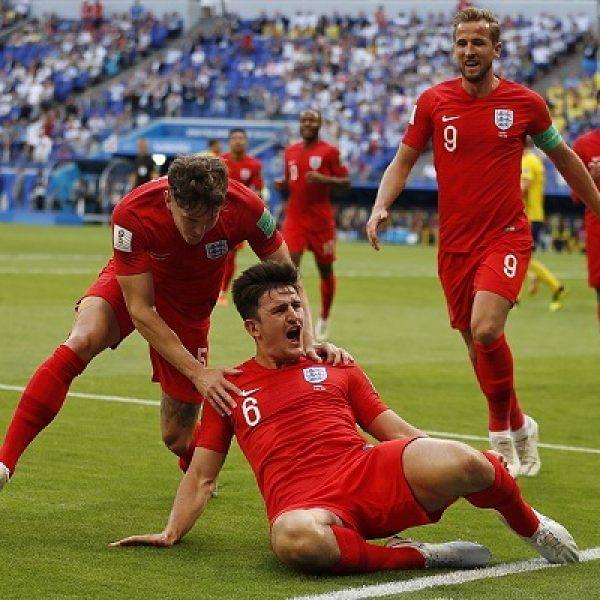 உலகக்கோப்பை கால்பந்து : அரையிறுதிக்குள் நுழைந்தது இங்கிலாந்து!