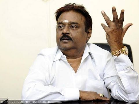 Vijayakanth is now on Twitter | Election TidBits 2052016