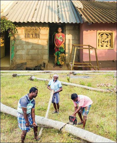 'கஜா' துயர் துடைக்க... களத்தில் விகடன்!