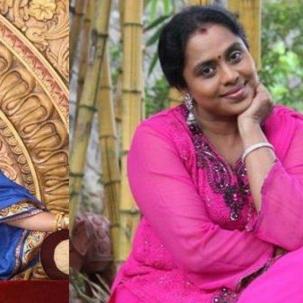 ''உங்களை நாங்க ரொம்பவே மிஸ் பண்றோம் சிஸ்டர்!'' - உருகும் விஜி சந்திரசேகர்!