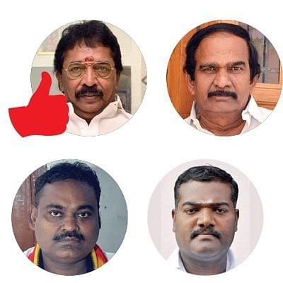 விருதுநகர் நாடாளுமன்றத் தொகுதிக்கு உட்பட்ட சட்டமன்ற தொகுதிகள்