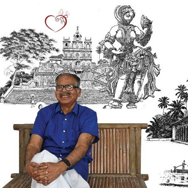 ஓவியர், எழுத்தாளர் மனோகர் தேவதாஸ்