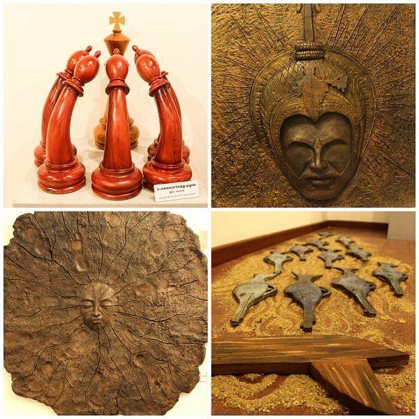 மெய் சிலிர்க்கும் ஓவியங்கள்... அரசைக் கேள்வி கேட்கும் சிற்பங்கள்... திருக்குறள் கண்காட்சி ஸ்பெஷல்