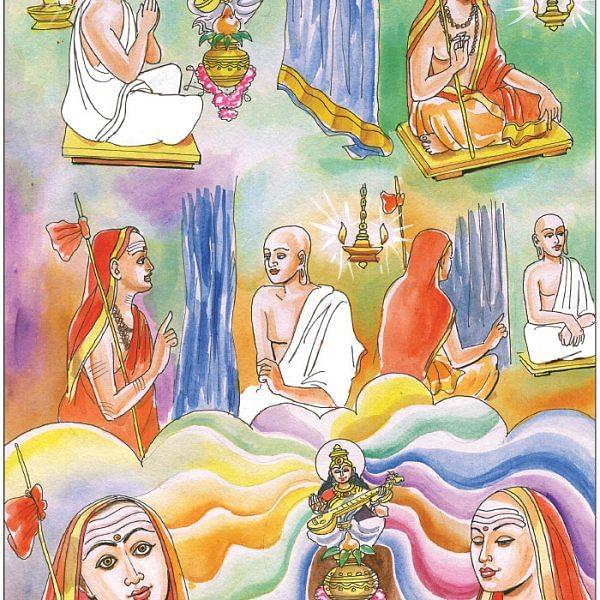 ஆதிசங்கரர் காப்பாற்றிய அமரகோசம்