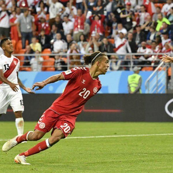 ஒவ்வொரு நொடியும் பரபரப்பு... பெருவை போராடி வென்ற டென்மார்க்! #Worldcup #PERDEN