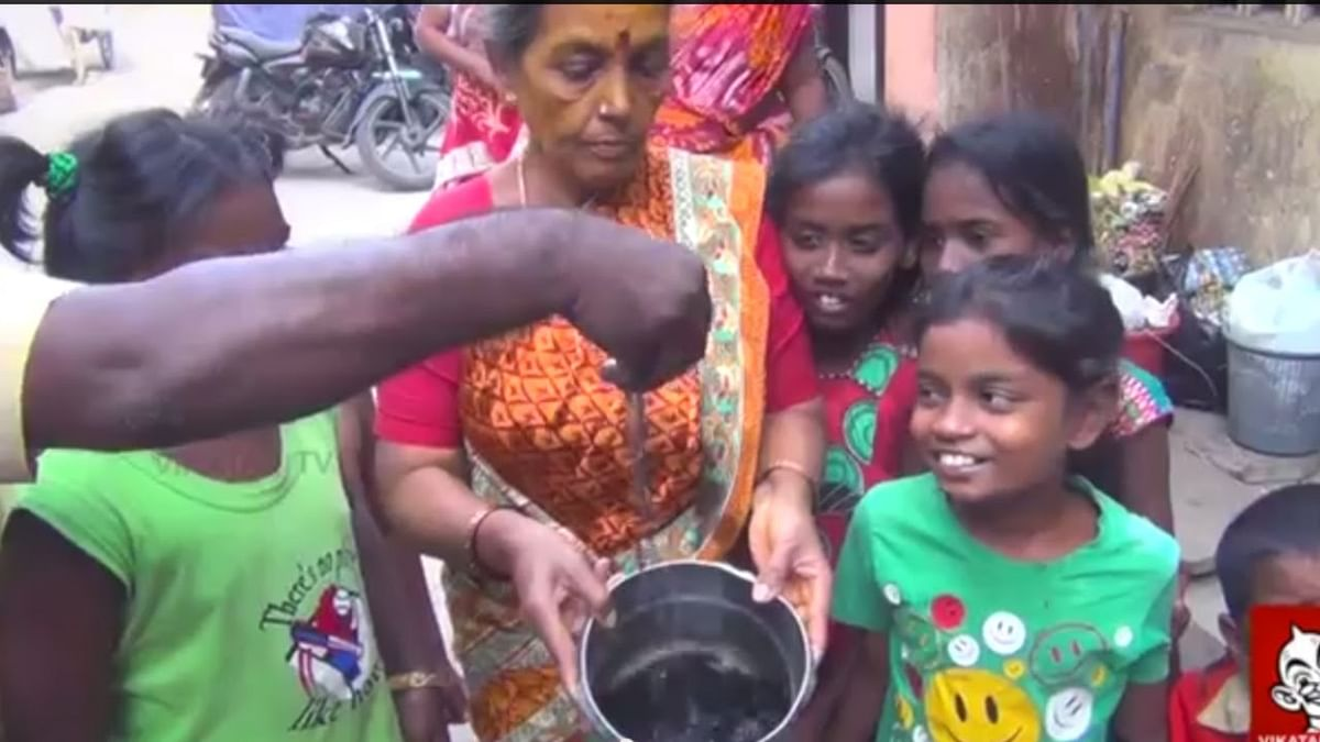 Drainage water in corporation water pump - R.K.Nagar Special report