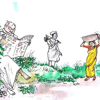 மரத்தடி மாநாடு: காபி செடிகள்...  விறகாகும் அவலம்!