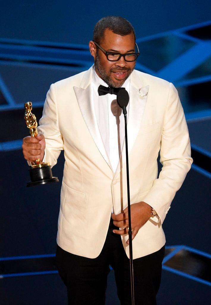 """சிறந்த திரைக்கதைக்கான ஆஸ்கர் விருதுகள் வென்றது  'கெட் அவுட்' 'கால் மீ பை யுவர் நேம்' - #GETOUT #CallMeByYourName"""" #Oscars"""