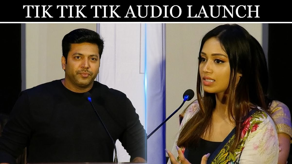 India's first space film - Tik Tik Tik Audio Launch   Jayam Ravi, Nivetha Pethuraj