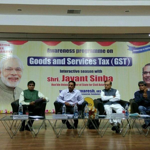 """""""வரியினால் ஏற்பட்ட வலி!"""" - திருப்பூர் ஜி.எஸ்.டி கலந்துரையாடல் #GST"""