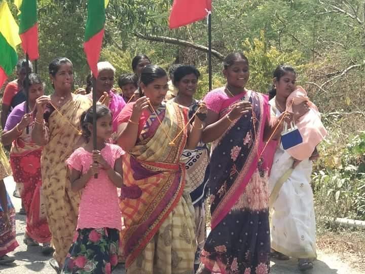 `புதுக்கோட்டையில் கொடிகட்டிப் பறக்கும் மூன்று எண் லாட்டரி வியாபாரம்!' -கொதித்தெழுந்த பெண்கள்