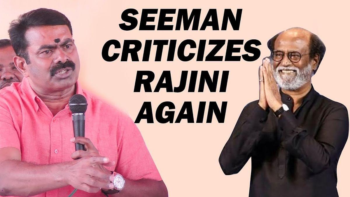 HOT: My film with SIMBU will have huge IMPACT- Seeman Speech
