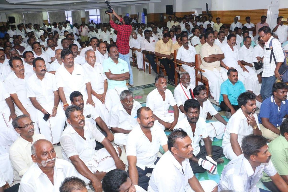 மக்கள் நீதிமய்யம் கட்சியை தேர்தல் ஆணையம் தடைசெய்ய வேண்டும் - ராஜேந்திர பாலாஜி காட்டம்