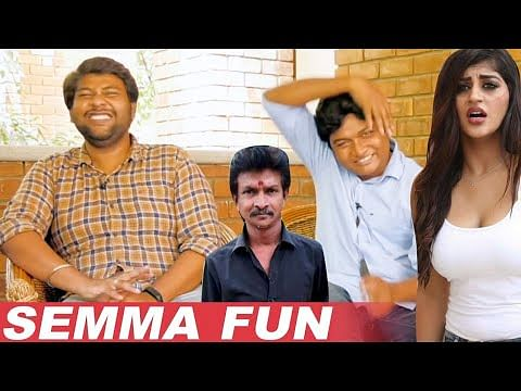 Bijli Ramesh Shooting Spot Galatta With Gopi - Sudhakar | Fun Unlimited Interview