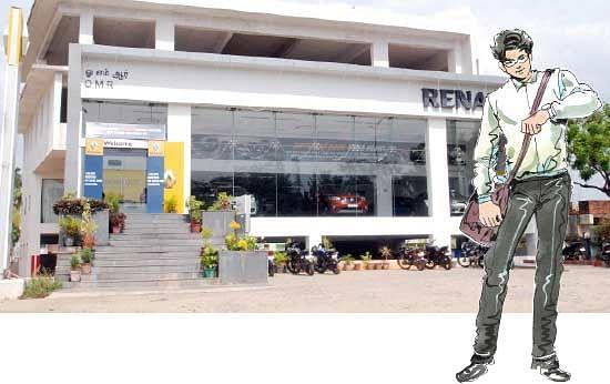 ஷோ ரூம் ரெய்டு!