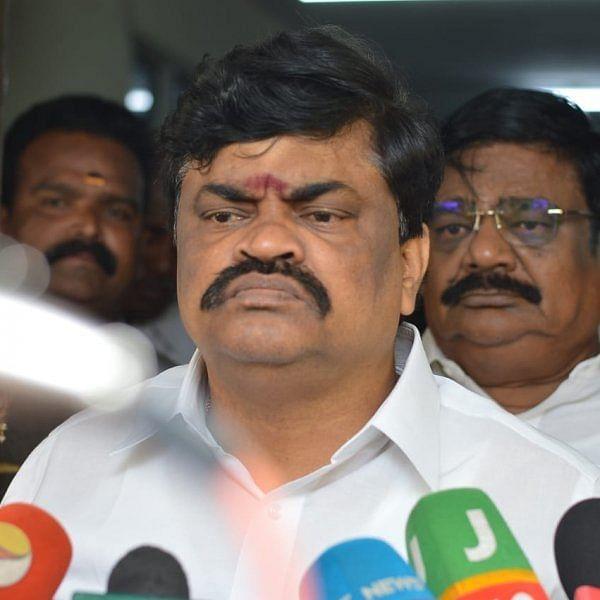 அமைச்சர் ராஜேந்திர பாலாஜி
