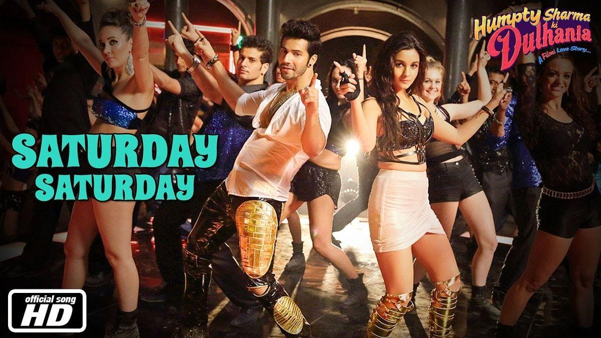 Saturday Saturday -Humpty Sharma Ki Dulhania -Official Song