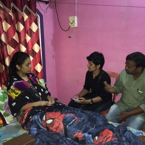தெலங்கானாவில் அம்ருதாவை சந்தித்த கெளசல்யா!