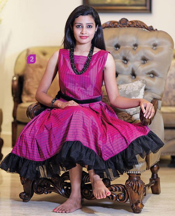 சிம்பிள் அண்ட் ரிச்... மிக்ஸ்டு காம்பினேஷன்!