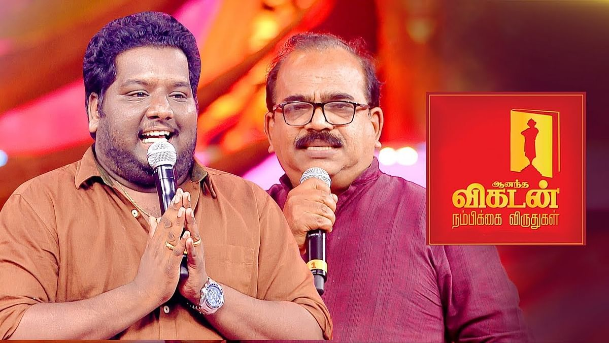 Nanjil Sampath on Vijay's Sarkar Politics | Black Sheep | Ananda Vikatan Nambikkai Awards 2017