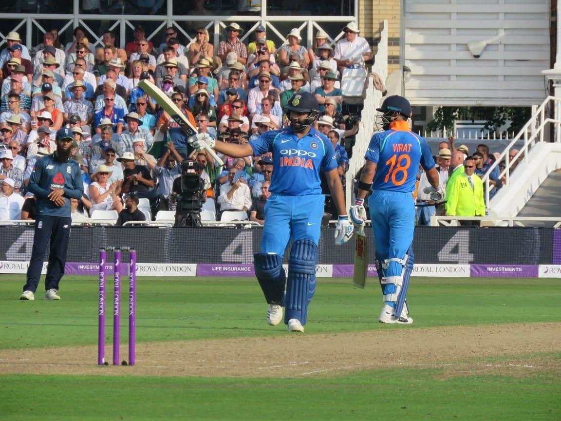 ரோஹித் அதிரடி..! 8 விக்கெட் வித்தியாசத்தில் இந்தியா வெற்றி