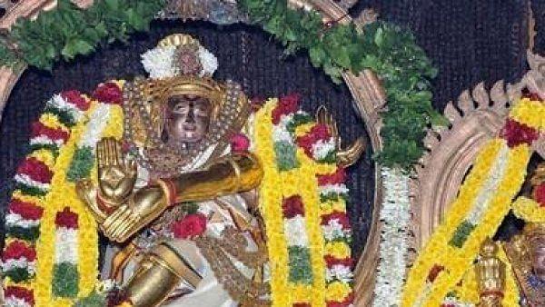 இன்று திருவோணம்... நடராஜர் உச்சிகால அபிஷேகம்!