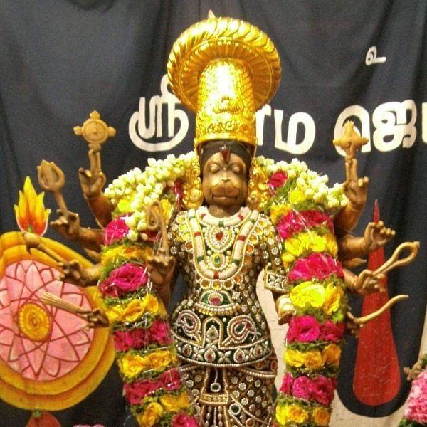 அனந்தமங்கலம் ஆஞ்சநேயர் கோயிலில் அனுமன் ஜெயந்தி!