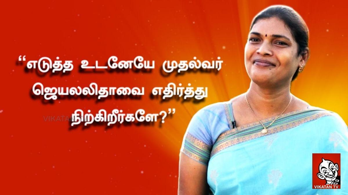Jaya's opponent candidate Trangender Devi | Naam Tamilar