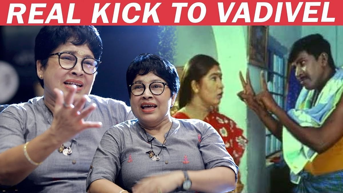 Vadivelu Was SCARED of Me - Kovai Sarala Reveals Unheard Stories